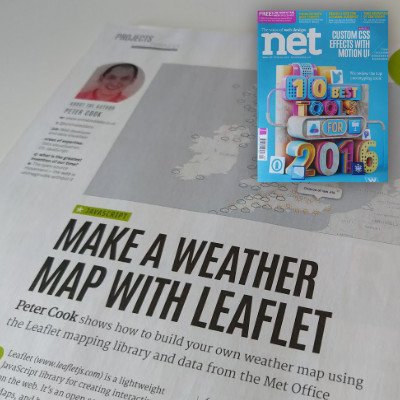 Make a Weather Map with Leaflet